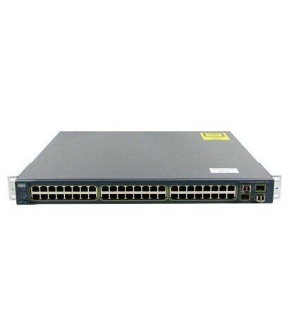 Switch second hand Cisco Catalyst WS-C3560G-48PS-S V09
